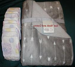 Embroidered Baby Blanket for Newborn or Reborn Baby Plus 10