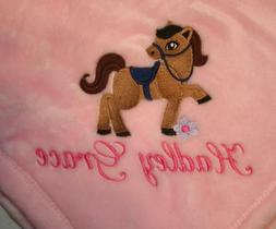 Embroidered Personalized Monogrammed Baby Blanket Stroller C