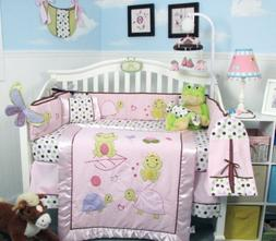 SOHO Emily The Frog Crib Nursery Bedding Set 14 pcs