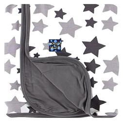 Kickee Pants Unisex Essentials Ruffle Blanket Feather/Rain S