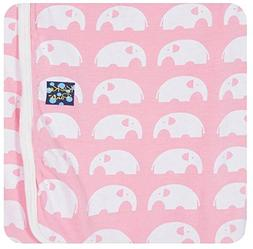 KicKee Pants Baby Essentials Swaddling Blanket Girls, Lotus