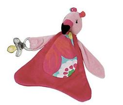 Maison Chic Fannie The Flamingo Pacifier Blankie