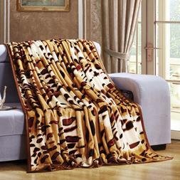 Fashion Sexy Tiger Stripes Plush Warm Soft Faux <font><b>Min