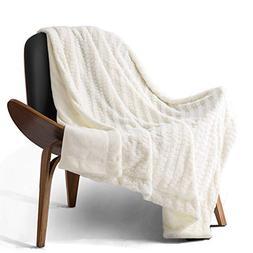 Bedsure Faux Fur Reversible Fleece Throw Blanket – Super S