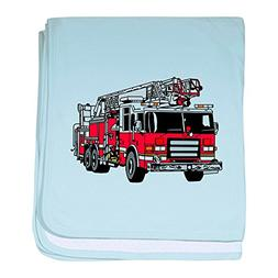 CafePress - Fire Engine Red - Baby Blanket, Super Soft Newbo