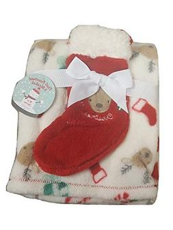 Baby Gear My First Christmas Embroidered Reindeer Stocking a