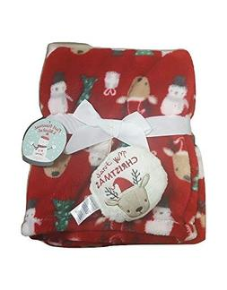 Baby Gear My First Reindeer Ornament and Christmas Blanket S