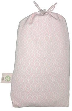 Fitted Crib Sheet in GOTS-Certified Soft Organic Cotton for