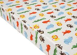 Premium Fitted Pack N Play Playard Sheet made with 100% ORGA