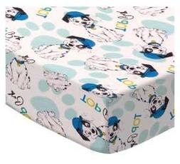 SheetWorld Fitted Crib / Toddler Sheet - 101 Dalmations - Ma