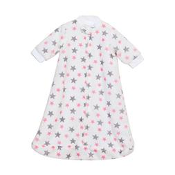 TILLYOU Flannel Fleece Baby Wearable Blanket with Sleeves an