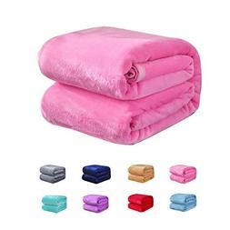 Flannel Fleece Blanket for Baby Girl or boy, Soft Warm Cozy