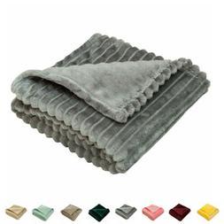 Flannel Fuzzy Toddler Blanket Fluffy Warm Baby Plush Blanket