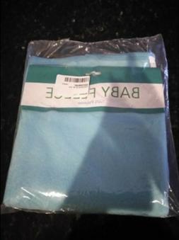 "Fleece Blanket 30""x30"" blue, baby fleece,100%polyester,soft"