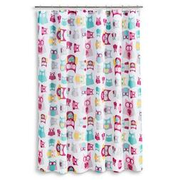 Circo Floral Owl Shower Curtain 72H X 72w