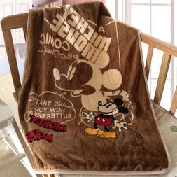 Disney <font><b>Cute</b></font> Cartoon Textile Vintage Mick
