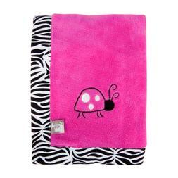 Trend Lab Framed Zahara Zebra Receiving Blanket