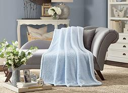 De Moocci Frosted Tip Fluffy Oversized Throw 60''x70'', Baby
