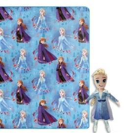 ✨ Frozen 2 Disney Throw Blanket Elsa Pillow Combo Gift Set