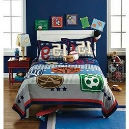 Circo Game On Sports Full/Queen Size Quilt Bedding Football