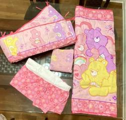 Care Bears Baby Girls 4Pc Nursery Crib Bedding Set: Blanket