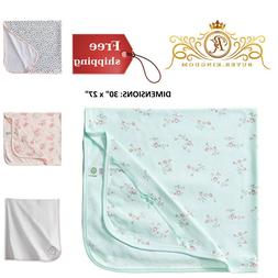 Girls Baby Receiving Blankets Wrap Cover Infant Newborn Cott