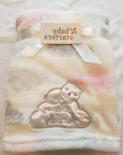 GIRLS BABY STARTERS CLOUD BABY BLANKET.NWT.