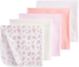 Rene Rofe Baby Baby-Girls Newborn Floral 5 Pack Receiving Bl