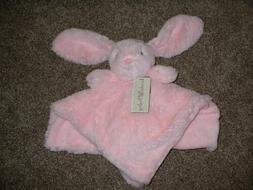Koala Baby Girls Pink Bunny Rabbit Security Blanket Plush Ra