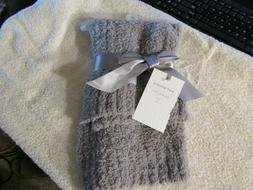Saranoni Gray Bambon Mini Lush Receiving Blanket Baby New 15