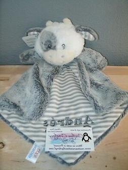 Gray Cow Luvster Personalized Security Blanket Baby Blankie