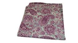 Jojo's Boutique Gray Paisley Fleece Blanket 30x30