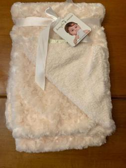Blankets and Beyond Gray Rosette Baby Blanket Grey
