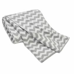 American Baby Company Grey Chevron Zigzag 100% Cotton Sweate