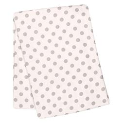 Trend Lab® Grey Dot Swaddle Blanket
