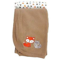 Koala Baby Grey Fox 2 Pack Thermal Blanket