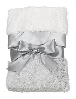 Grey Silky Soft Security Blanket by Bearington Bear
