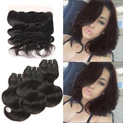 Urbeauty Hair Brazilian Virgin Hair Body Wave With Lace Fron