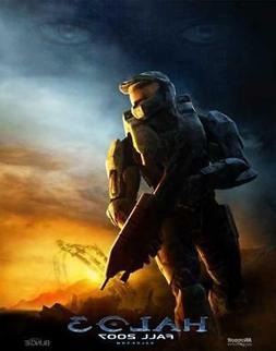 Halo 3 Movie POSTER 11 x 17, Steve Downes, Jen Taylor, David