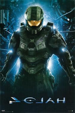 """Halo 4"" Master Chief Video Game - 24"" x 36"" Poster Print -"