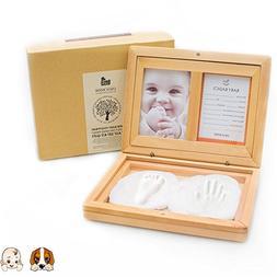 Handprint & Footprint Frame Kit Ornament as Newborn, Infants