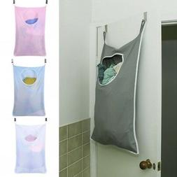 Hanging Laundry Hamper Over the Door Large Capacity Dirty Cl