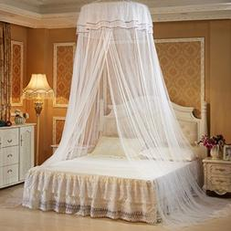 PeleusTech Hanging Mosquito Net Princess Bed Canopy Netting