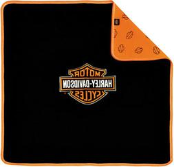 Harley-Davidson® Newborn Baby Bar & Shield Receiving Blanke