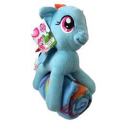 """My Little Pony, """"Rainbow Dash"""" Hugger and Fleece Throw Blank"""