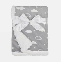 American Baby Company Heavenly Soft Sherpa/Chenille Receivin
