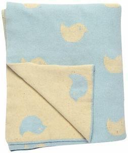 Darzzi Hello Birdie Baby Blanket