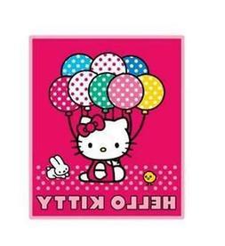 Hello Kitty Blanket - Hello Kitty Sanrio Throw  Baloon