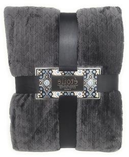 etoile Herringbone Jacquard Weave Lightweight Oversized Velv