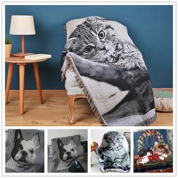 Home Bedding Animal Blanket Sheet Baby Kids Bed Throw Warm C